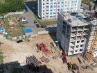 Ход строительства дома № 1 в ЖК Огни Автозавода - фото 17, Июль 2021
