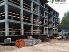 Ход строительства дома № 1 в ЖК Клевер - фото 109, Сентябрь 2018