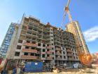 Ход строительства дома Секция 1 в ЖК Гвардейский 3.0 - фото 17, Май 2021