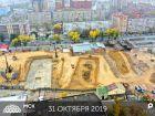 Ход строительства дома Литер 2 в ЖК Рубин - фото 37, Сентябрь 2019