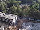 Ход строительства дома № 4 в ЖК Маленькая страна - фото 3, Сентябрь 2020