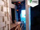 Ход строительства дома № 1 в ЖК Клевер - фото 100, Ноябрь 2018