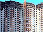 Ход строительства дома № 1 корпус 1 в ЖК Жюль Верн - фото 90, Февраль 2016