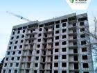 Ход строительства дома № 1 в ЖК Клевер - фото 72, Март 2019