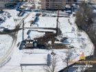 Ход строительства дома Литер 1 в ЖК Звезда Столицы - фото 75, Февраль 2019