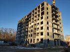 Ход строительства дома №1, секция 2 в ЖК Заречье - фото 19, Январь 2021
