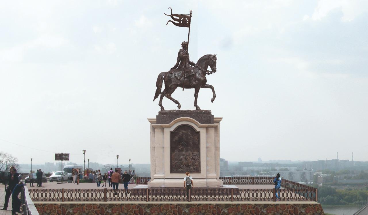 Для установки памятника князю Александру Невскому в Нижнем Новгороде выбрали два места