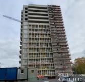Ход строительства дома № 3 в ЖК Циолковский -