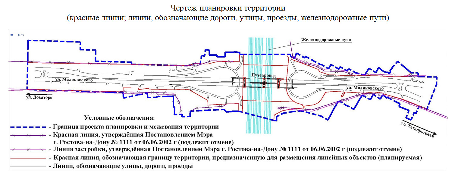 Реконструкция путепровода на ул. Малиновского в Ростове - фото 1
