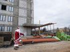 Ход строительства дома № 18 в ЖК Город времени - фото 40, Декабрь 2019