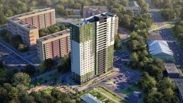 Жилой комплекс (ЖК) «Комарово» в Нижнем Новгороде