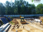 Ход строительства дома № 1 в ЖК Клевер - фото 123, Июль 2018