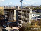 Ход строительства дома Литер 1 в ЖК Звезда Столицы - фото 103, Октябрь 2018