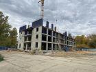 Ход строительства дома № 1, секция 1 в ЖК Заречье - фото 15, Октябрь 2020