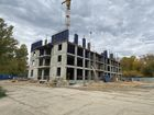 Ход строительства дома № 1, секция 1 в ЖК Заречье - фото 34, Октябрь 2020